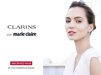 CLARINS ET MARIE CLAIRE