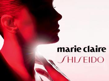 Shiseido et Marie Claire