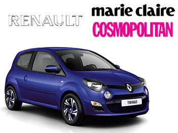 Opération Spéciale Renault X Marie Claire X Cosmo gmc media
