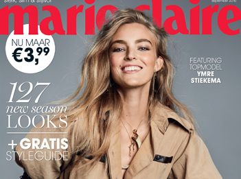Couverture Marie Claire International The Netherlands