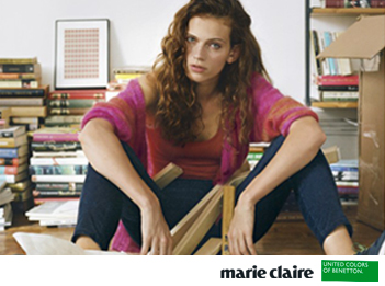 Benetton et Marie Claire