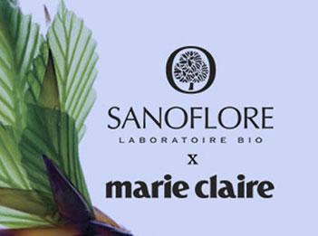 Sanoflore x Marie Claire